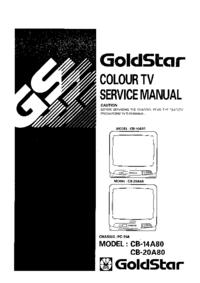 Руководство по техническому обслуживанию Goldstar CB-14A80