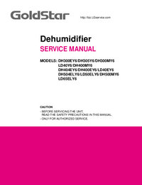 Service Manual Goldstar DH305Y6