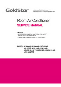 Service Manual Goldstar KG8000R