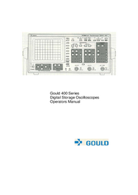 User Manual Gould 400 series