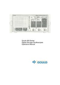 Manuel de l'utilisateur Gould 400 series