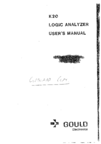 User Manual Gould K20