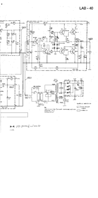 Schaltplan Gradiente LAB-40