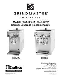 Serwis i User Manual Grindmaster 341A
