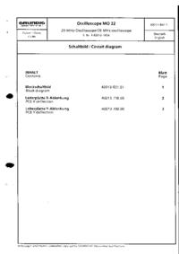 Cirquit Diagram Grundig MO 22