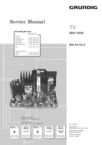 Service Manual Supplement Grundig MW 82-50/8