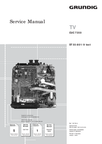 Serviço Manual Supplement Grundig CUC 7350