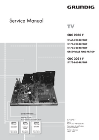 Service Manual Grundig ST 63-700 FR/TOP