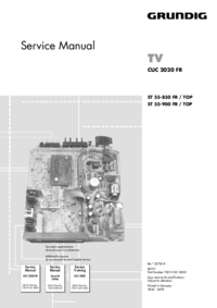Service Manual Grundig ST 55-900 FR / TOP