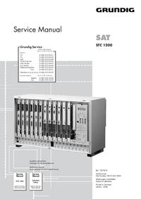 Serviceanleitung Grundig STC 1200