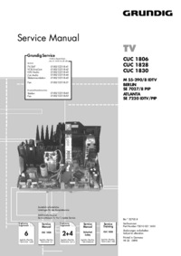 Service Manual Supplement Grundig Chassis CUC 1806