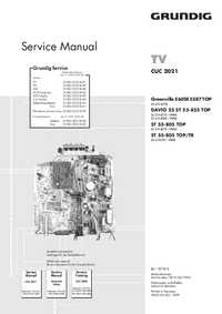 Service Manual Grundig Greenville 560SE 5587 TOP