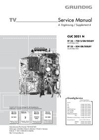 Service Manual Grundig ST 55 – 730 S/GB/DOLBY