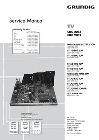 Service Manual Grundig ST 70-820 TOP