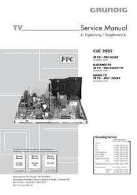 Manuale di servizio Grundig ST 70 – 782 DOLBY