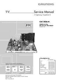 Instrukcja serwisowa Grundig CUC 2036 N