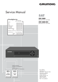 Manual de servicio Grundig STR 2300 MV