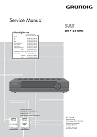 Manual de servicio Grundig STR 7122 TWIN