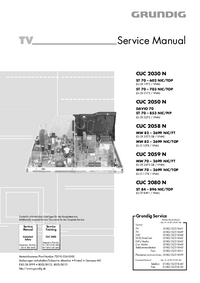 Service Manual Grundig MW 70 – 2699 NIC/FT
