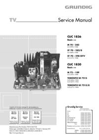 manuel de réparation Grundig M 70 – 282