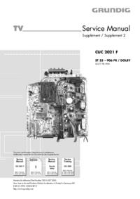 Руководство по техническому обслуживанию Grundig ST 55 – 906 FR / DOLBY