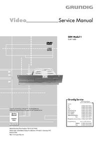 Service Manual Grundig GDV Modul 1