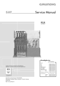 Serviceanleitung Grundig STC 50