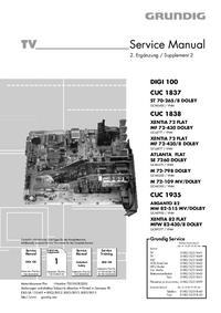 Manual de servicio Grundig ST 70-265/8 DOLBY
