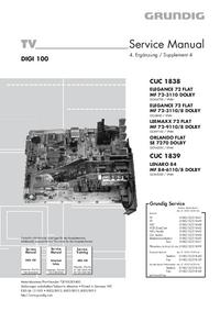 Manual de serviço Grundig MF 84-6110/8 DOLBY