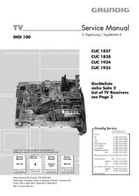 Manual de serviço Grundig MFW 82-620/8 DOLBY