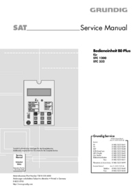 Grundig-3274-Manual-Page-1-Picture
