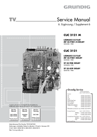 Service Manual Supplement Grundig ST 55-839 DOLBY