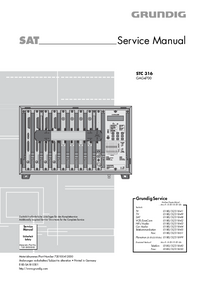 Service Manual Grundig STC 316