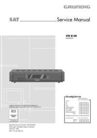 Serviceanleitung Grundig STR 8150