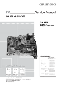 Service Manual Grundig MFW 92-6110/9 DVD