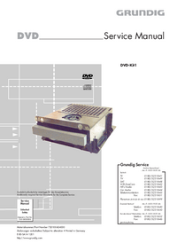 Service Manual Grundig DVD-Kit1