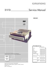 Руководство по техническому обслуживанию Grundig DVD-Kit1