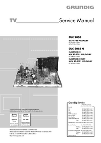 Servicehandboek Grundig MW 82-2201 NIC/DOLBY