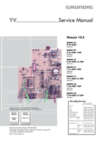 Service Manual Grundig T 55-4201/5 TOP