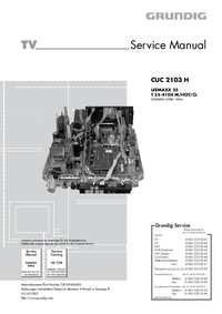 Service Manual Grundig LEEMAXX 55 T 55-4104 M/HOT/CL