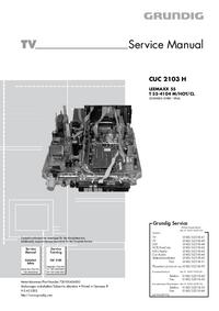 Руководство по техническому обслуживанию Grundig LEEMAXX 55 T 55-4104 M/HOT/CL