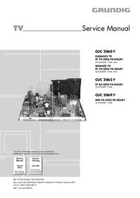 manuel de réparation Grundig ELEGANCE 70 ST 70-2206 FR/DOLBY