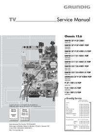 Service Manual Grundig T 55-1201/5 TOP