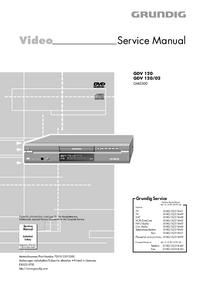 Service Manual Grundig GDV 120/02