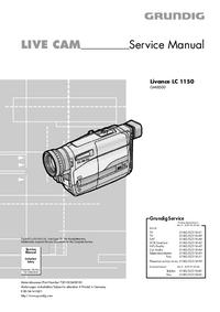 Service Manual Grundig Livance LC 1150