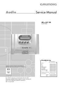 manuel de réparation Grundig MPAXX M-P 100