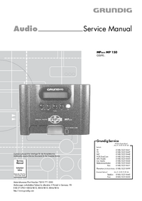 Service Manual Grundig MPAXX MP 150