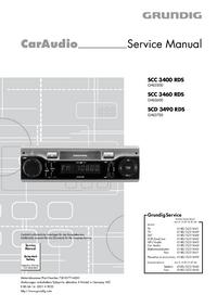 Руководство по техническому обслуживанию Grundig SCC 3400 RDS
