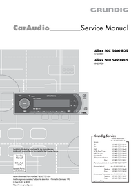 Service Manual Grundig Allixx SCC 5460 RDS