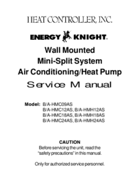 Service Manual HEATCONTROLLER B/A-HMC09AS